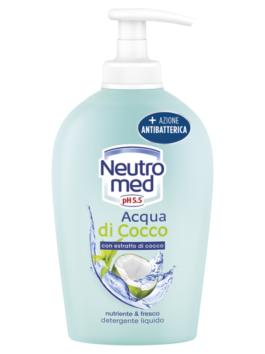 Săpun lichid antibacterian Neutromed de nucă de cocos 300ml