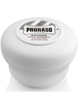 Săpun de bărbierit pentru piele sensibilă Proraso cu ceai verde și ovăz 150ml