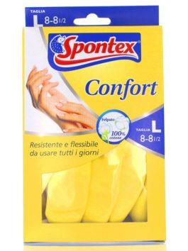 Mănuși de latex Spontex Confort mărimea L