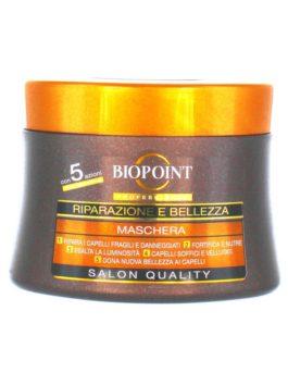 Mască pentru repararea și înfrumusețarea părului Biopoint Professional 250ml
