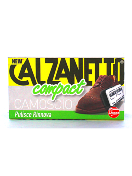 Burete moale pentru pantofi din piele întoarsă Calzanetto Compact