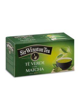 Ceai verde matcha Sir Winston Tea 20 pliculețe 35g