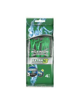 Aparat de ras Wilkinson Extra 3 Sensitive 4 buc.
