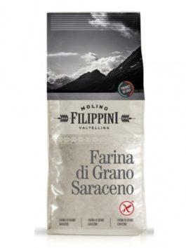 Făină de hrișcă fără gluten Molino Filippini 500g