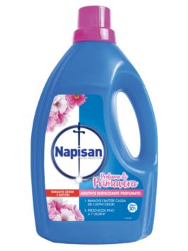 Aditiv dezinfectant lichid pentru rufe Napisan cu parfum de primăvară 1,2L