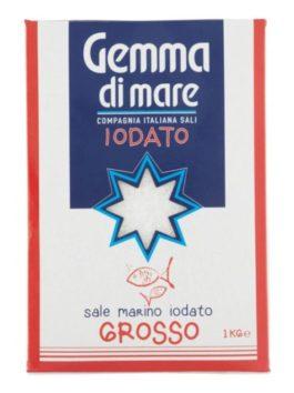 Sare de mare iodată grunjoasă Compagnia Italiana Sali 1kg