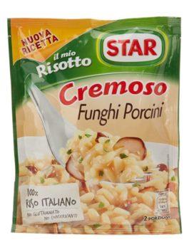 Orez cu hribi pentru risotto Star 175g
