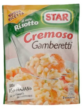 Orez cu creveți pentru risotto Star 175g
