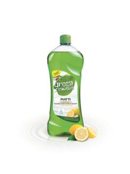 Detergent de vase BIO lămâie Green Emotion 1L