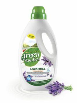 Detergent lichid BIO cu ulei de lavandă Green Emotion 1,5L 30 spălări