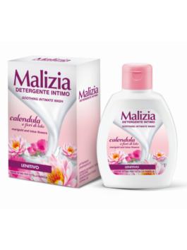 Detergent intim de gălbenele și flori de lotus Malizia 200ml
