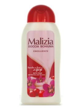 Gel de duș cu parfum de fructe de pădure și flori de goji Malizia 300ml