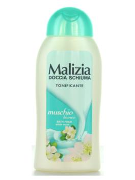 Gel de duș cu parfum de mosc alb Malizia 300ml