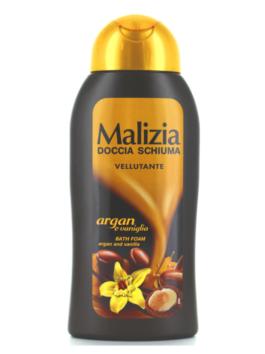 Gel de duș cu parfum de argan și vanilie Malizia 300ml