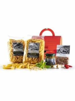 Gift box Bauletto Rossa Autentico Italiano