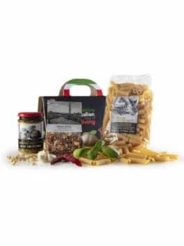 Gift box Shopper Nera Autentico Italiano